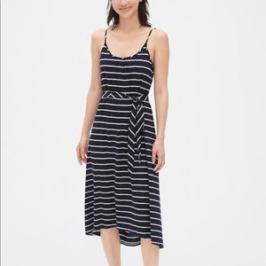 Brand new- tags attached. Striped tank dress.